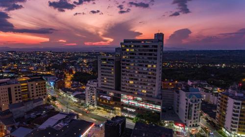 A bird's-eye view of Hotel Mocawa Plaza Armenia