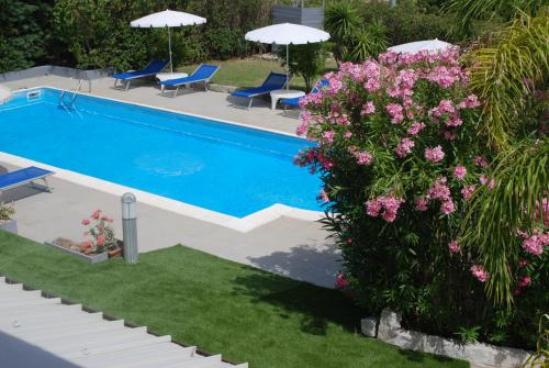 A view of the pool at Natur Hotel Tanca or nearby