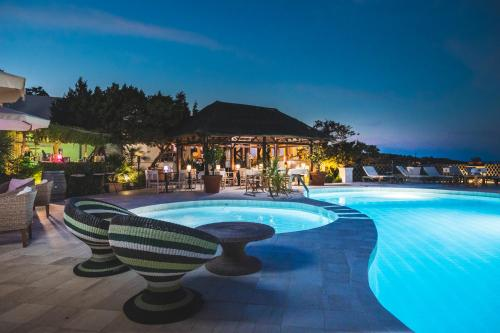The swimming pool at or near Hotel Balocco
