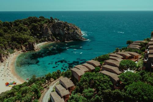 A bird's-eye view of Pola Giverola Resort