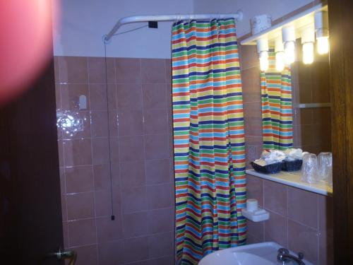 A bathroom at Hotel L'Ancora