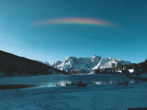 Quinz - Locanda Al Lago en invierno