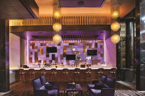 阿麗雅度假酒店和賭場餐廳或用餐的地方