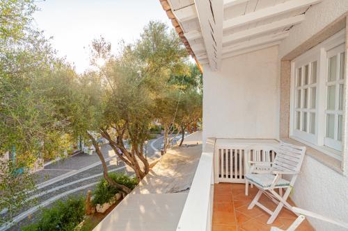 A balcony or terrace at Locanda Tartarughino - Luxury Suites in Porto Rotondo