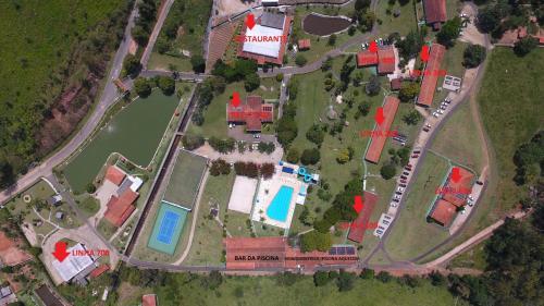 Uma vista aérea de Hotel Fazenda M1