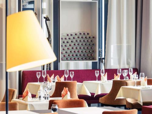 A restaurant or other place to eat at Mercure Hotel Heilbronn