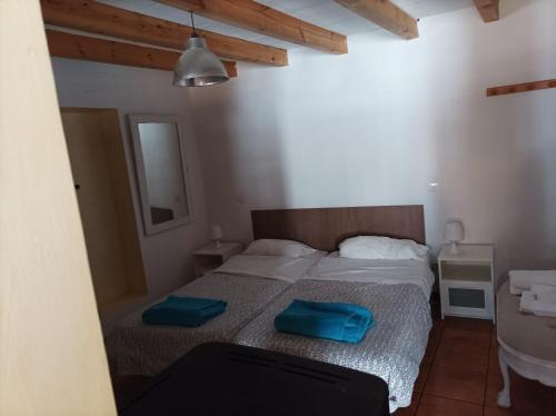 Cama o camas de una habitación en El Rincon De Zaldierna