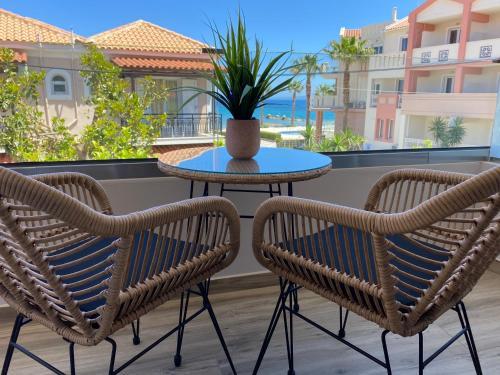 Balcone o terrazza di Roula Kotsonis Superior Apartment
