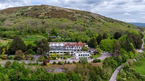 A bird's-eye view of Best Western The Webbington Hotel & Spa