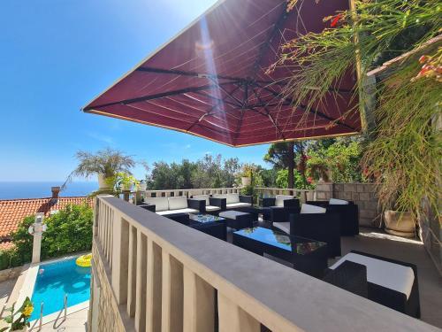 Balcone o terrazza di Bed and Breakfast Villa Klaic