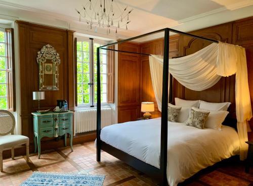 Un ou plusieurs lits dans un hébergement de l'établissement LA MEFFRAIS 1741
