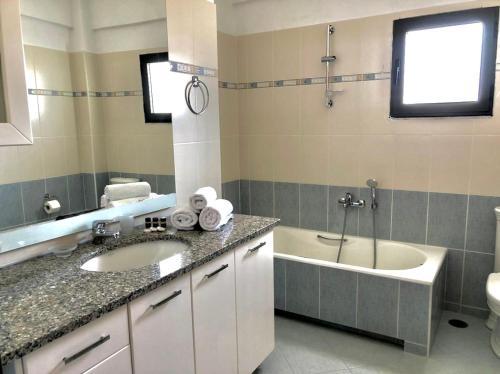 Bagno di Villa Erdeti Studio & Apartment