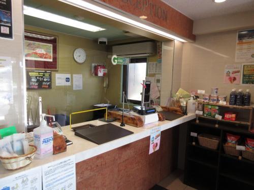 Dapur atau dapur kecil di FujizakuraInn
