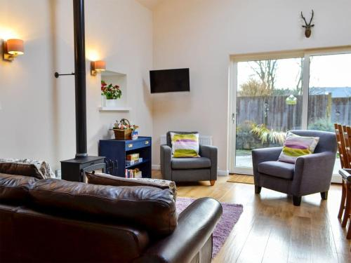 A seating area at Birch Tree Cottage