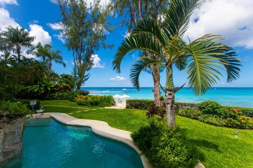 The swimming pool at or near Old Trees 002 by Barbados Sotheby's International Realty