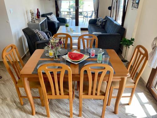 Ein Restaurant oder anderes Speiselokal in der Unterkunft Pachmann Apartments