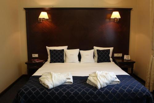Un ou plusieurs lits dans un hébergement de l'établissement Grand Sal