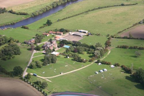 A bird's-eye view of Prince Rupert House