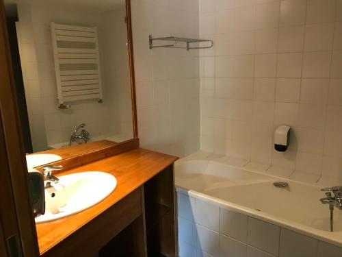 Salle de bains dans l'établissement La Belle Vue