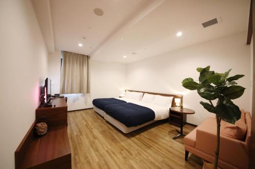 東邦ホテルゾンク博多にあるベッド