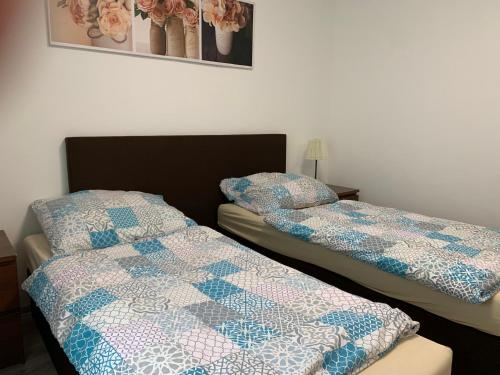 Posteľ alebo postele v izbe v ubytovaní Apartament TT10 Botanicka