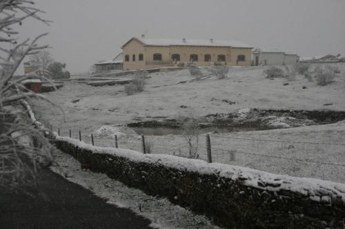 Casa Rural Las Canteras зимой