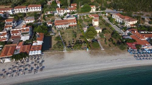 A bird's-eye view of Pelagos Beachfront