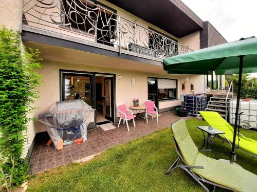 Relaxing apartment in Speicher with furnished garden