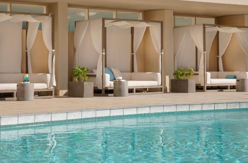The swimming pool at or near Aston Waikiki Beach Hotel