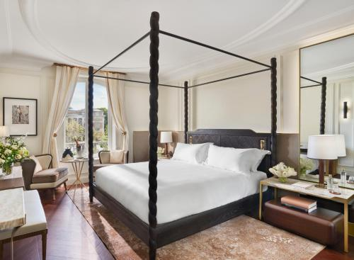 A bed or beds in a room at Mandarin Oriental, Ritz Madrid