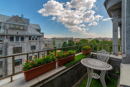 Балкон или терраса в Танаис мини-отель