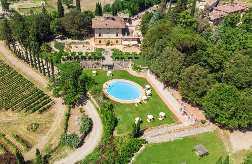 Villa Campomaggio Resort & SPA с высоты птичьего полета