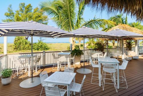 A restaurant or other place to eat at Hilton Garden Inn St. Pete Beach, FL