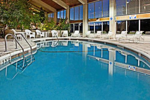 The swimming pool at or close to Days Inn by Wyndham Warren