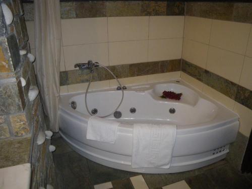 A bathroom at Villa Georgie