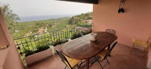 A balcony or terrace at Casa Grazia e Enrico