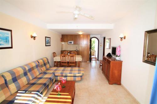 Zona de estar de Apartaments Talayot