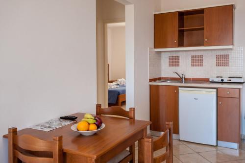 Η κουζίνα ή μικρή κουζίνα στο Orion Star