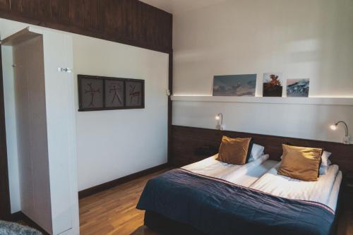 Letto o letti in una camera di Best Western Hotel Arctic Eden