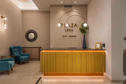 Hall o reception di Plaza 1866 Superior City Rooms