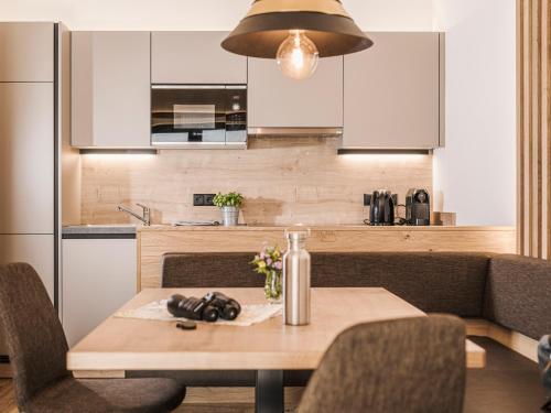 Küche/Küchenzeile in der Unterkunft Mo's appartements