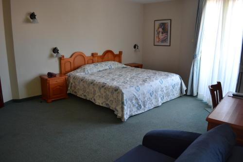 Cama o camas de una habitación en Boutique Hotel St. Stefan