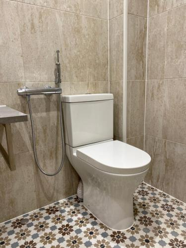 A bathroom at Immaculate Studio Apartment in North London