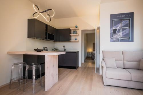 Cucina o angolo cottura di Winery home -Montecorneo 570-