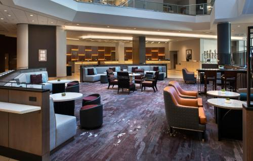 A restaurant or other place to eat at Boston Marriott Copley Place