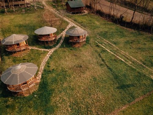 A garden outside Biliy Bizon