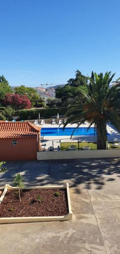 A view of the pool at Villa Belinha - Guest House or nearby