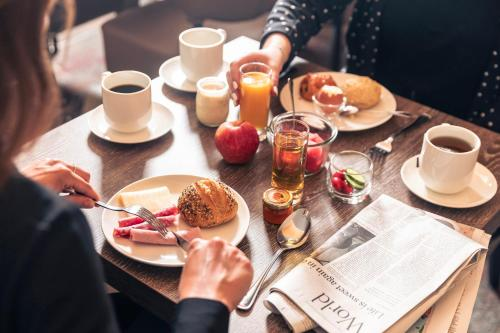 Ontbijt beschikbaar voor gasten van Le Grand Hotel