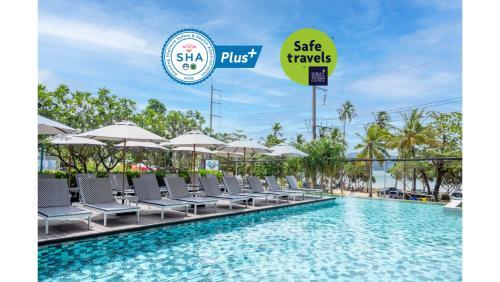 Бассейн в The Nature Phuket - SHA Plus или поблизости