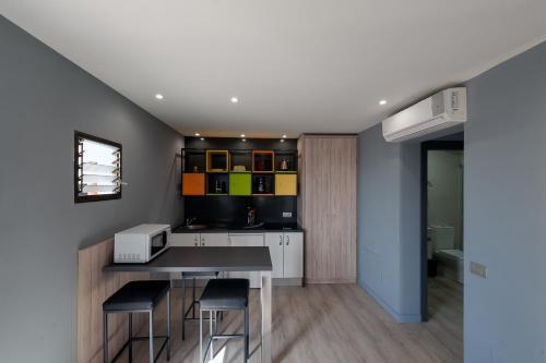 A kitchen or kitchenette at Casa Alberto